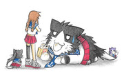 阿賀野ネコの危機