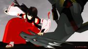 【ifバトル】 先代巫女vs竜人族