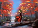 秋の鍵山さん