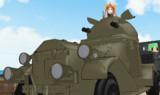 伍長式クロスレイ装甲車MMDモデル配布します