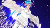 【Tda Miku Crasy】純白の天使【MikuMikuDance】