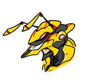味方殺しの甲虫戦士