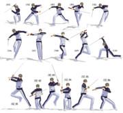 【MMD】刀ポーズ1,2【ポーズ配布】