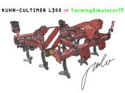 KUHN - CULTIMER L300 in FarmingSimulator17