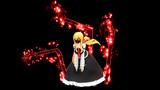 【MMD素材】常闇アクセサリ(骨型の腕や、闇のオーラ)の配布