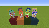 【littleMaidMob】真・女神転生 四大天使テクスチャ【Minecraft】