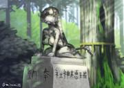瑞穂神社にある狛犬