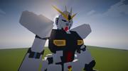 「Minecraft」νガンダム作ってみたⅠ「JointBlock」