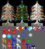 手作りクリスマスツリーセット(改