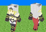 【Minecraftスキン】ベルセルクジータ【グランブルーファンタジー】