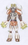オリジナル怪人/レンコンバッファロー
