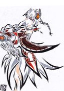 【もどき】白盾の女神・ヴァルキリー