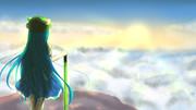 天子と雲海