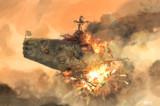 アーキルの戦艦が簡単に沈むか!!