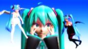 【Tda式初音ミク×3】良い心、悪い心【MikuMikuDance】