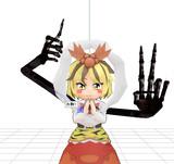【東方MMD】例の闇の手を他のキャラに付けてみた