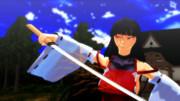 【第二回ソードアクションinMMD】「……ッ!? 剣で軌道を変えて避けやすくしただとッ!?」