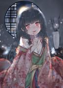 磯風姫と月夜の秘めごと