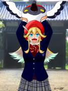 城娘にその土地の学校の制服を着させ隊 3
