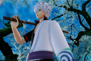 【第二回ソードアクションinMMD】桜の下の白