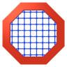 八角形の網