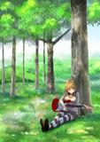 木洩れ日マキちゃん