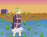 ゆめ絵2っき 青い草原