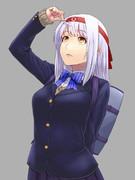 制服翔鶴姉