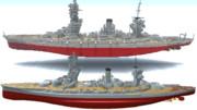 Minecraftで再び 戦艦 扶桑 を建造しました