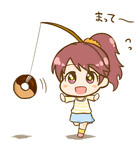 ドーナツを追いかける法子ちゃん
