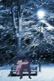 雪景色の中のゆうさく兄妹☆