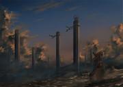 御柱の墓場