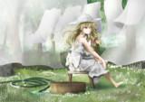 魔法の森の少女