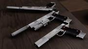 【MMD】M1911 LightBringerⅡ【モデル配布】