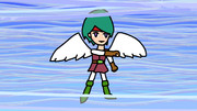 ところ天使 (「ところてん」と「天使勇者」)