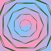 ニラの八角形