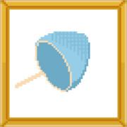 [メガネ]→ドット絵しりとり→[ネット]