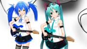 エレキギターを試作してるよ(4色まで増やした)