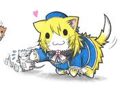 ネズミ提督と愛宕ネコ