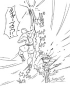 幸子VSサガット