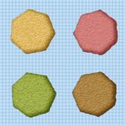 七角形のクッキー