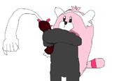 キテルグマがナマコブシに抱きついたらこうなる