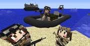 MCヘリ 複合艇(RHIBボート) ver2