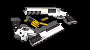 【MMD】戦術拳銃