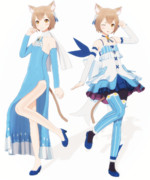 【MMDモデル配布】フェリス