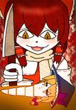 RI人参を食べようとするBNKRG