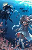 ほっぽちゃんの海底散策