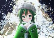 冬のGUMIさん