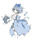 氷の妖精チルノ
