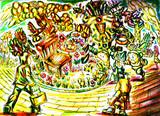 絵本「幸福の町のしあわせのイス」